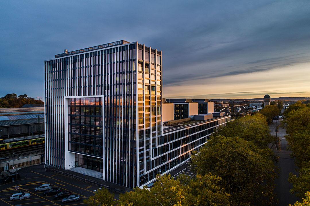 Company headquarters in Karlsruhe